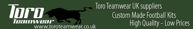 Toro teamwear - cheap football kits